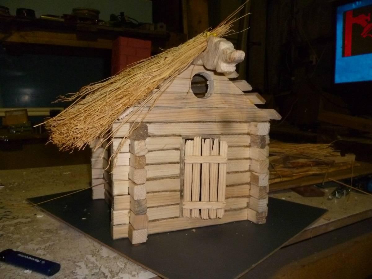 Как сделать крышу для скворечника из веника